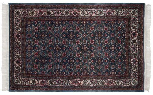 4×7 Bijar Blue Oriental Rug 030792