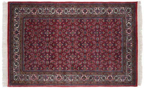 4×7 Bijar Red Oriental Rug 031001