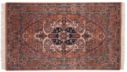 4×7 Heriz Rust Oriental Rug 016814