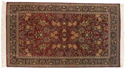 4×7 Kashan Red Oriental Rug 045953
