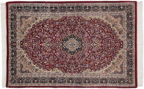 4×7 Kashan Rose Oriental Rug 036983