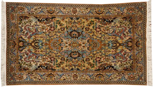 4×7 Kashmir Ivory Oriental Rug 013139
