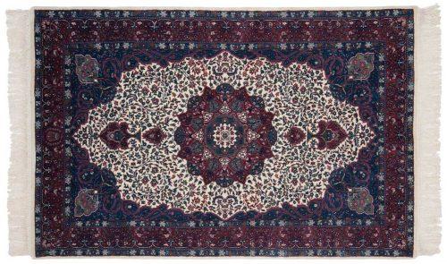 4×7 Kerman Ivory Oriental Rug 031719