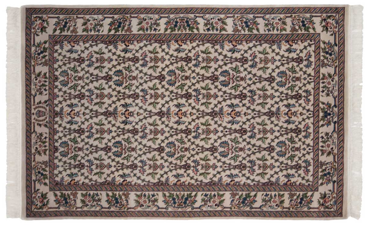 4x7 Aubusson Ivory Oriental Rug 031561
