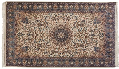 4×7 Mashad Ivory Oriental Rug 016727
