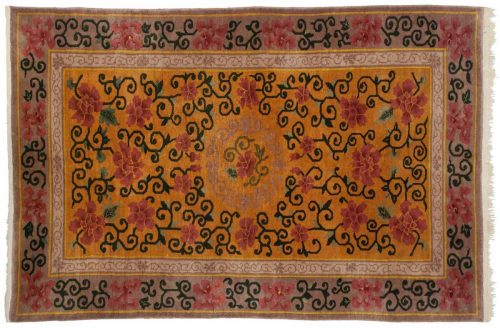 4×7 Nichols Gold Oriental Rug 044831