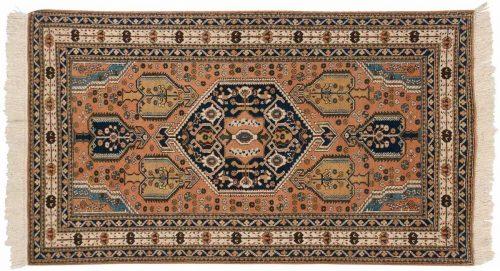4×7 Persian Ardebil Peach Oriental Rug 022893