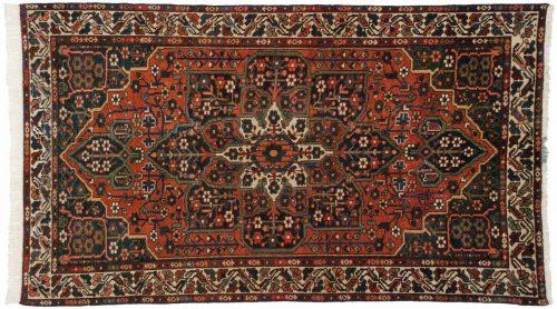4×7 Persian Baktiari Rust Oriental Rug 014291