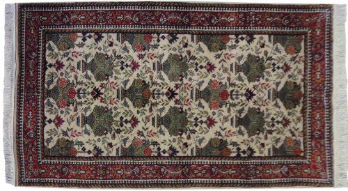 4×7 Persian Ivory Oriental Rug 012410