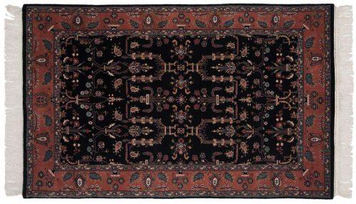 4×7 Sarouk Black Oriental Rug 031378