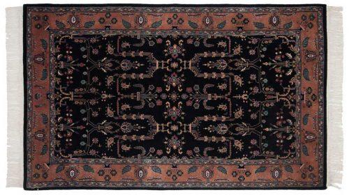 4×7 Sarouk Black Oriental Rug 031971
