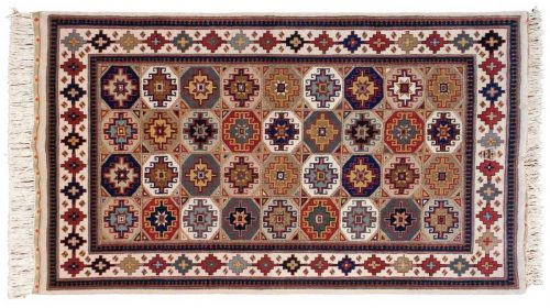 4×7 Shirvan Multi Color Oriental Rug 038345