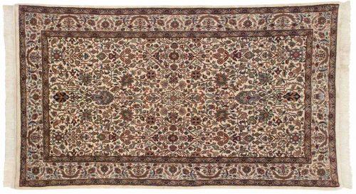 4×7 Tabriz Ivory Oriental Rug 037286
