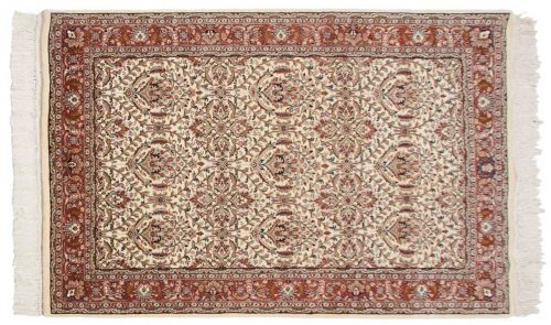 4×7 Yezd Ivory Oriental Rug 034251