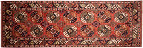 5×15 Ersari Rust Oriental Rug Runner 048871