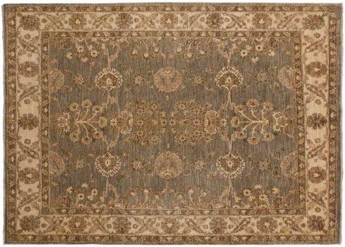 5×5 Chobi Grey Oriental Rug 043818