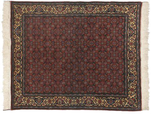 5×6 Bulgarian Rust Oriental Rug 017234