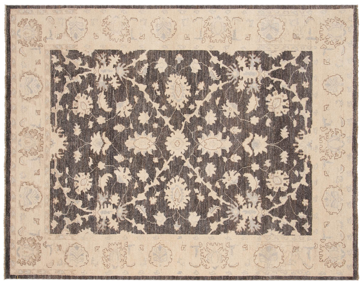 5 6 Chobi Grey Oriental Rug 048427 Carpets By Dilmaghani