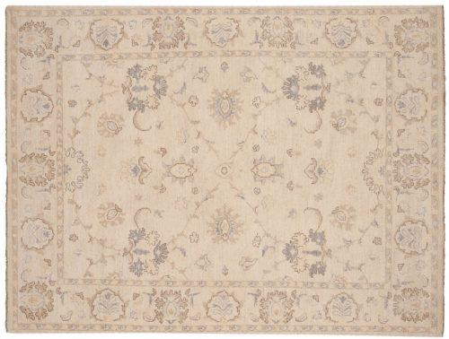 5×6 Chobi Ivory Oriental Rug 048428