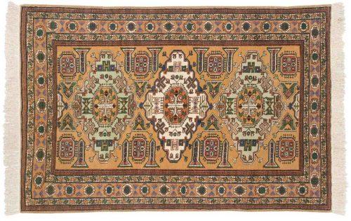5×6 Persian Guba Gold Oriental Rug 035428