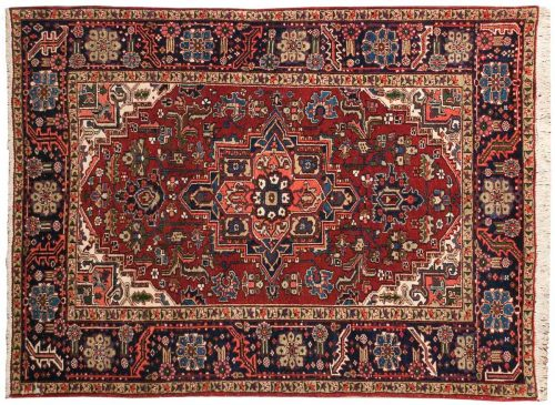 5×6 Persian Sharabian Red Oriental Rug 034879