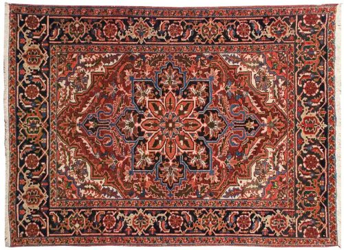 5×6 Persian Sharabian Red Oriental Rug 034880