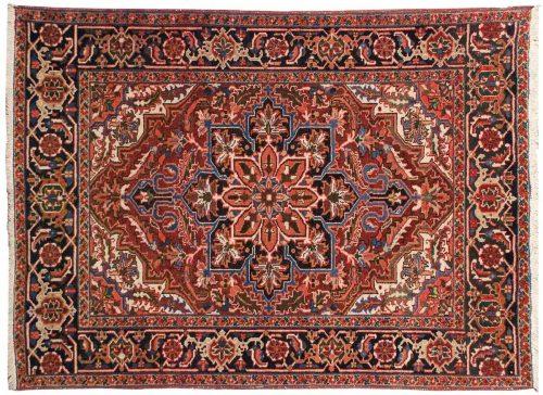 5×6 Persian Sharabian Red Oriental Rug 034880