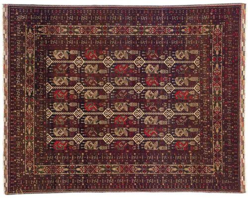 5×6 Yousafee Red Oriental Rug 043811