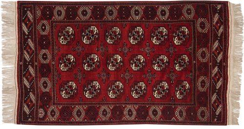5×7 Bokhara Red Oriental Rug 014025