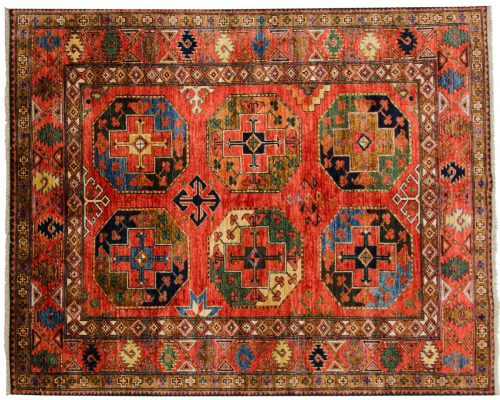 5×7 Ersari Rust Oriental Rug 048879