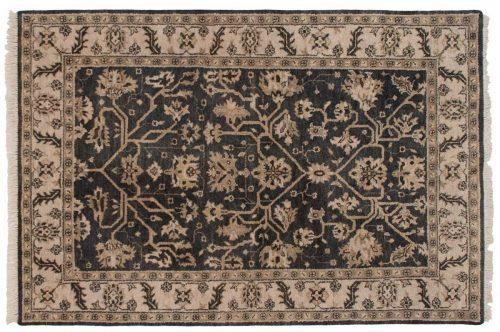5×7 Heriz Grey Oriental Rug 046916