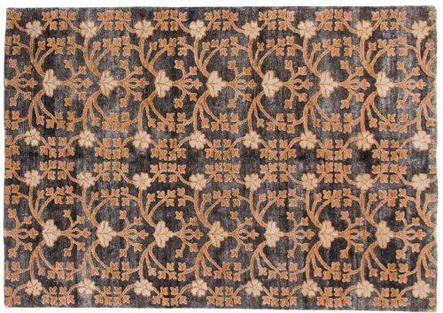 5×7 Samarkand Grey Oriental Rug 046917