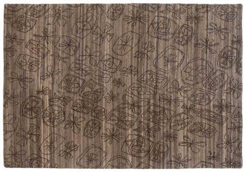 5×7 Modern Grey Oriental Rug 046920