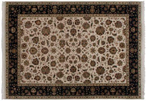5×7 Kashan Ivory Oriental Rug 047114