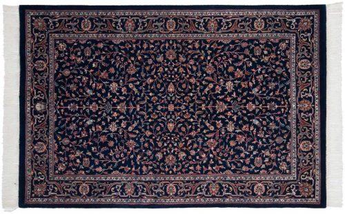 5×7 Kashan Blue Oriental Rug 024538