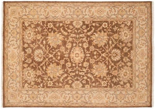 5×7 Kashan Brown Oriental Rug 047568