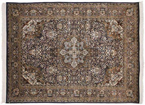 5×7 Kashmir Blue Oriental Rug 023561