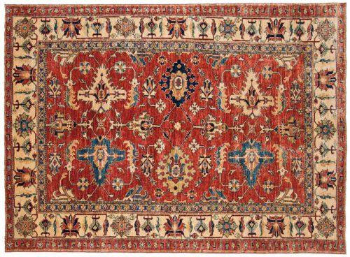 5×7 Kazak Red Oriental Rug 048444