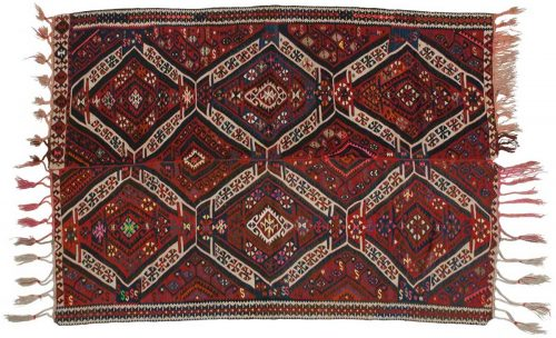 5×7 Sarkoy Red Oriental Rug 014186