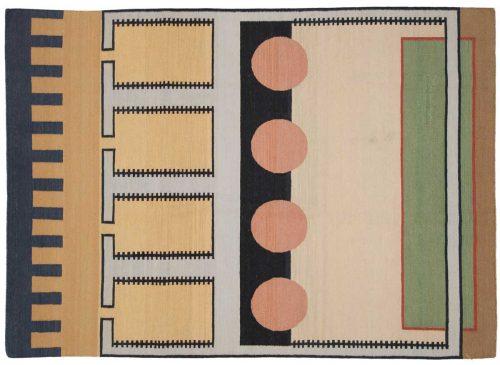 5×7 Nicholls Multi Color Oriental Rug 012760