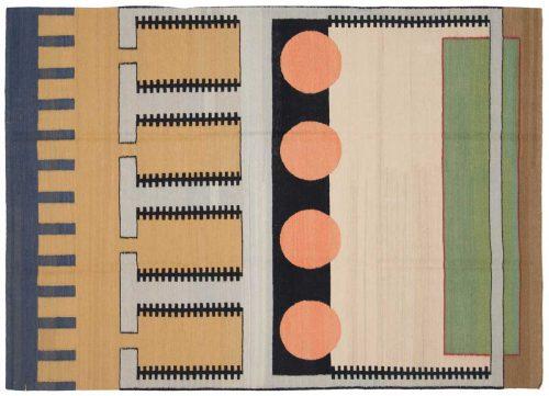 5×7 Nicholls Multi Color Oriental Rug 012761