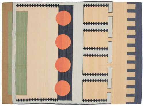 5×7 Nicholls Multi Color Oriental Rug 012830