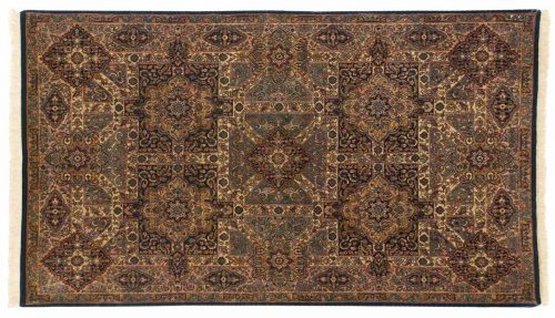 5×7 Panel Multi Color Oriental Rug 014384