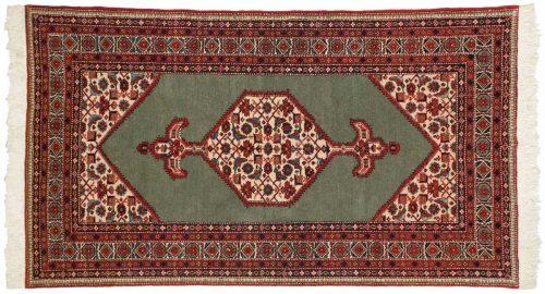 5×7 Persian Ardebil Green Oriental Rug 044272