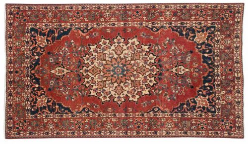 5×7 Persian Baktiari Red Oriental Rug 014294