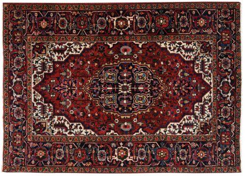 5×7 Persian Heriz Red Oriental Rug 013645