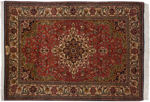 5×7 Persian Red Oriental Rug 012409