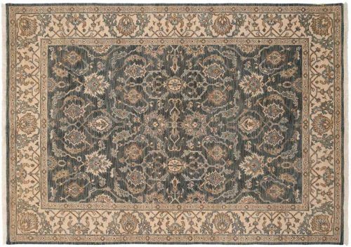 5×7 Ghoum Blue Oriental Rug 047572