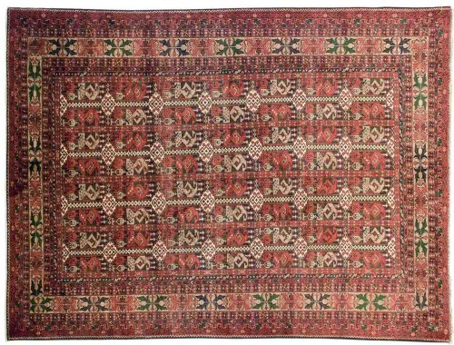 5×7 Yousafee Red Oriental Rug 043808