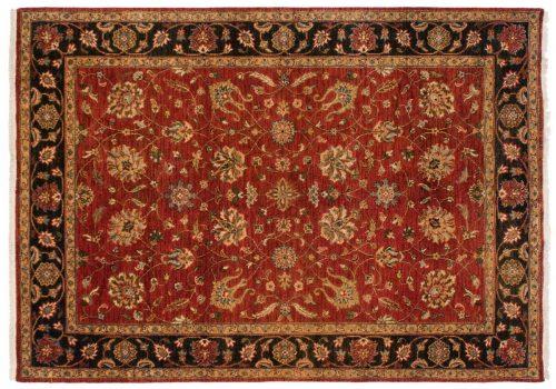 5×7 Oushak Red Oriental Rug 046912